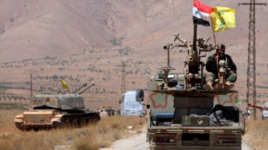 Presencia de Hezbolá en el sur de Siria revela incompetencia de EEUU