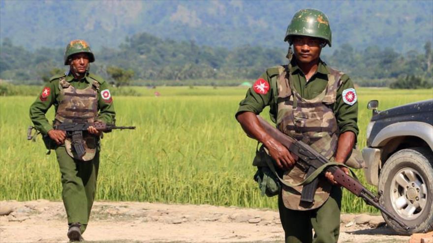 Myanmar designa a un militar ante Israel para aprender artes de guerra