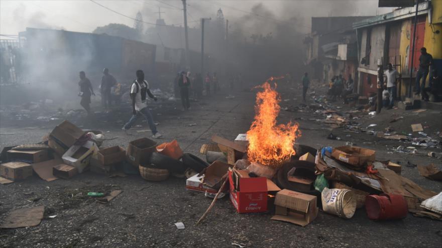 Haití otra ola de disturbios, dejaron al menos tres muertos