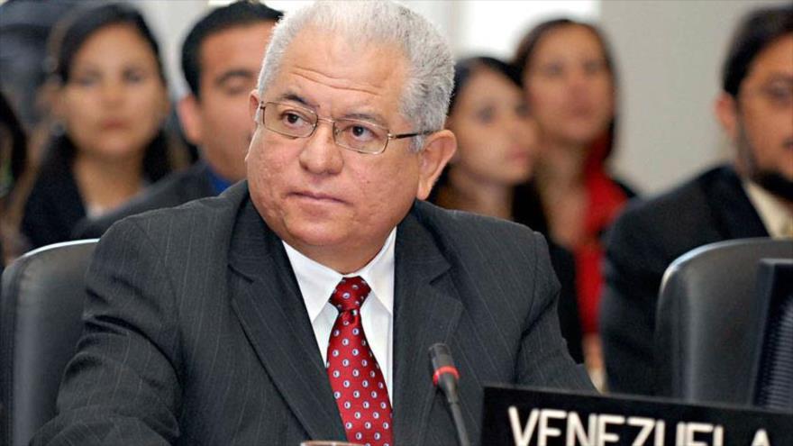 El embajador venezolano ante la Organización de las Naciones Unidas (ONU), Jorge Valero.