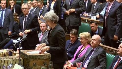 Premier británica obtiene respaldo ministerial para Brexit suave