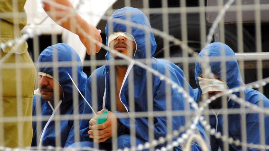 presos palestinos recluidos en una cárcel israelí.