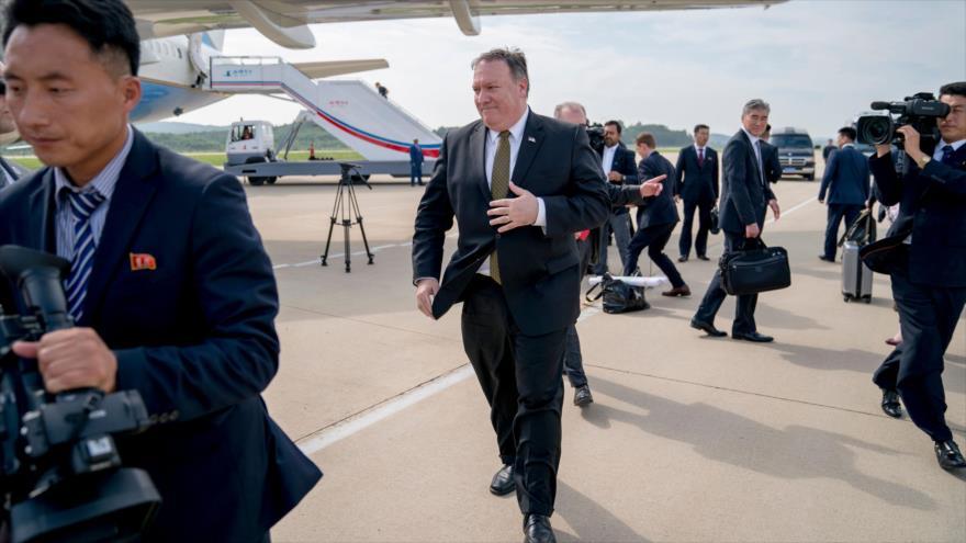 """Pyongyang tacha de """"gansteril y cancerosa"""" actitud de EEUU"""
