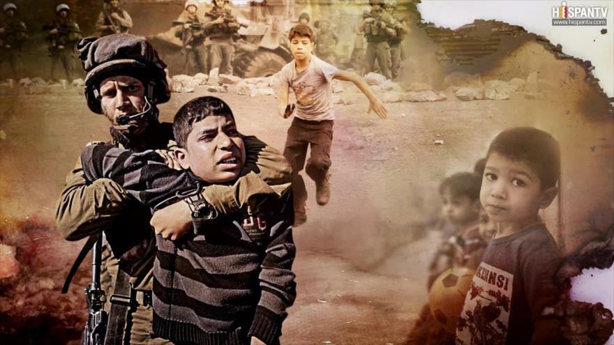 La Vida Bajo el Apartheid: La detención de niños palestinos