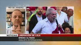 Altman: Hay conflicto judicial por liberación de Lula en Brasil