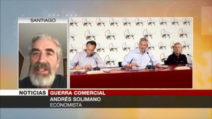 Andrés Solimano: Guerra comercial afecta a la UE y EEUU