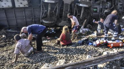 Irán expresa condolencias por la tragedia de tren en Turquía