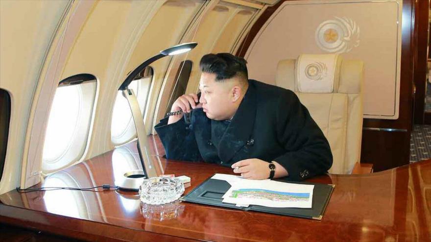 Avión privado de Kim Jong-un aterriza de forma secreta en Rusia