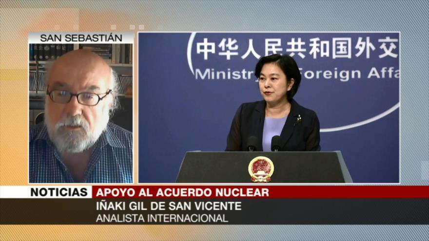 Iñaki Gil: Apoyo chino al pacto nuclear impide omnipotencia de EEUU