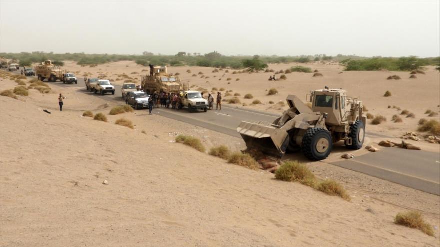 'Ofensiva saudí contra puerto yemení llega a un punto muerto'