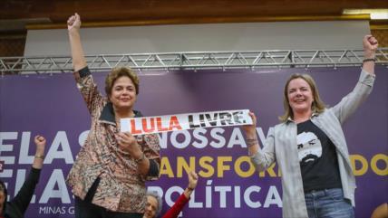 Rousseff tacha de injusta actuación de magistrados contra Lula