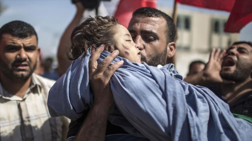 Irán pide enjuiciar a Israel por matanza deliberada de niños palestinos