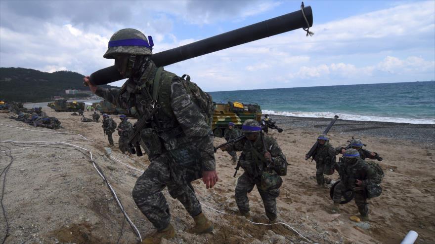 Corea del Sur cancela los ejercicios militares anuales con EEUU