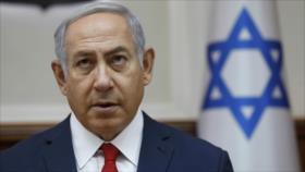 """Netanyahu, """"ministro del delito"""", interrogado de nuevo"""