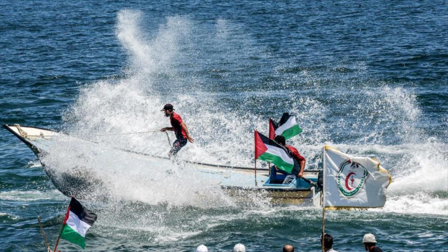 Flotilla parte de Gaza hacia Chipre para romper el asedio israelí