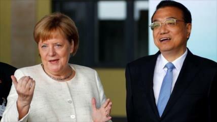 Alemania y China pactan inversiones ante guerra comercial de EEUU