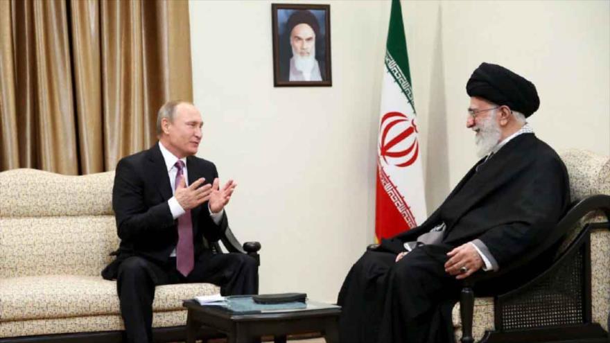 Alto funcionario transmitirá a Putin mensaje del Líder iraní