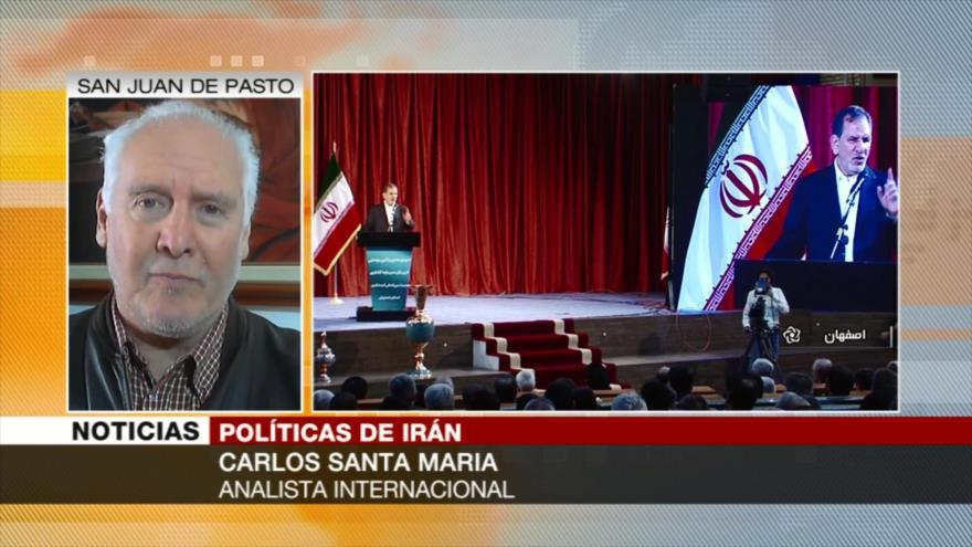 Santa María: Irán enfrenta a EEUU con el apoyo europeo al JCPOA