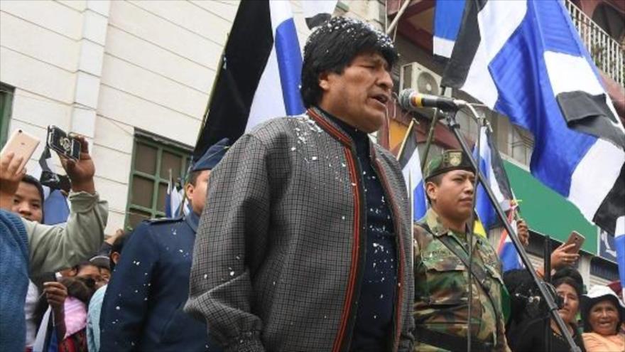 Presidente electo de Paraguay llegó a Bolivia para reunirse con Evo Morales