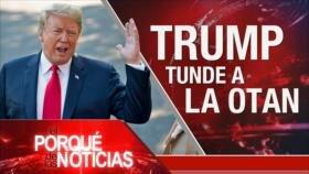 El Porqué de las Noticias: Difícil cumbre de la OTAN. Tormenta monetaria en Argentina. Bloqueo israelí contra Gaza
