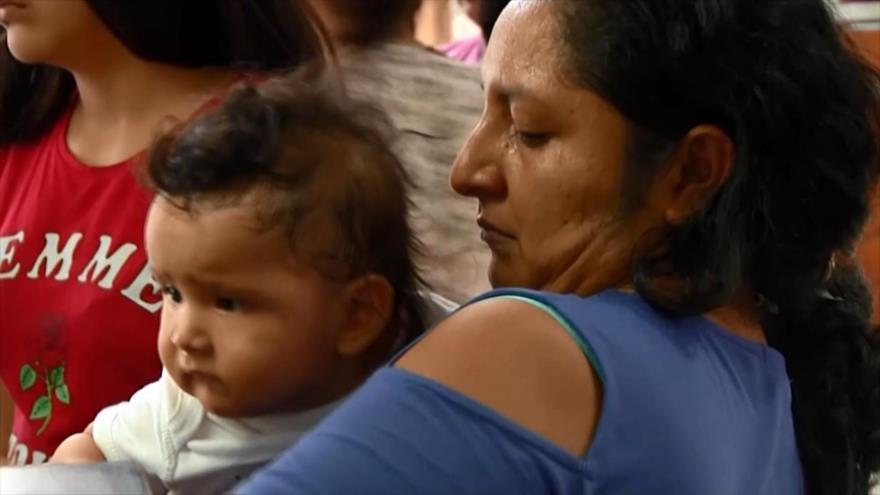 Trump podría recibir un castigo judicial por niños migrantes