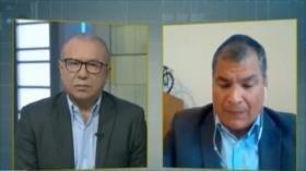 Correa tacha de 'traición sin precedentes' giro político de Moreno