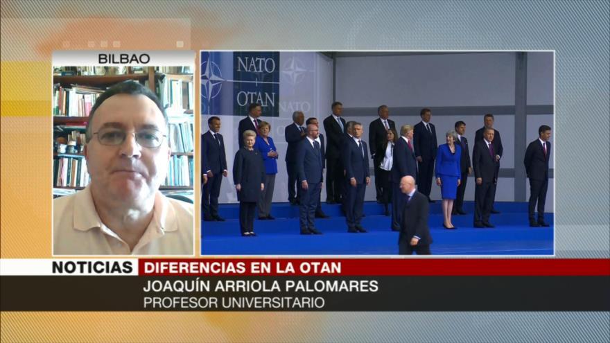 Arriola Palomares: EEUU usa a la OTAN para sus propios intereses
