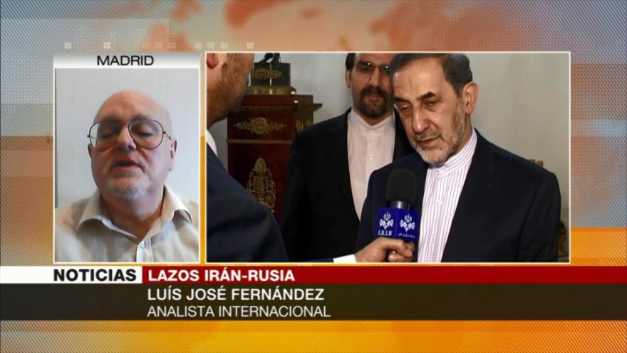 Fernández Rusia e Irán están los dos bajo presiones de EEUU
