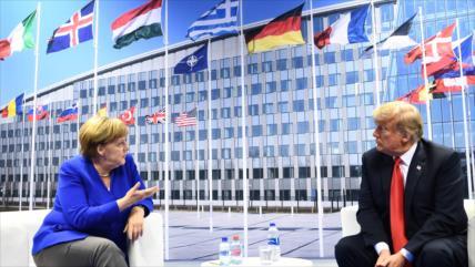 La UE rechaza la retórica previa a la cumbre de la OTAN de Trump