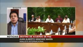 Sánchez Marín: Duque busca ultimar acuerdo de paz con FARC
