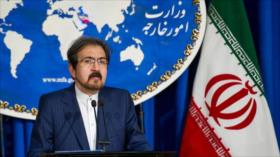 Irán rechaza guerra psicológica de EEUU contra sus embajadas
