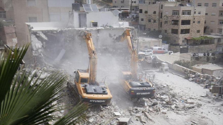 ONU: Israel arrasó 197 construcciones palestinas en Cisjordania en 2018