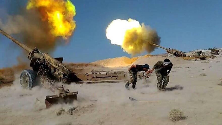 Vídeo: Ejército sirio frustra fuerte ataque de Daesh en Al-Sweida