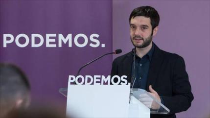 Podemos exige al Gobierno español distanciarse de EEUU y de Israel