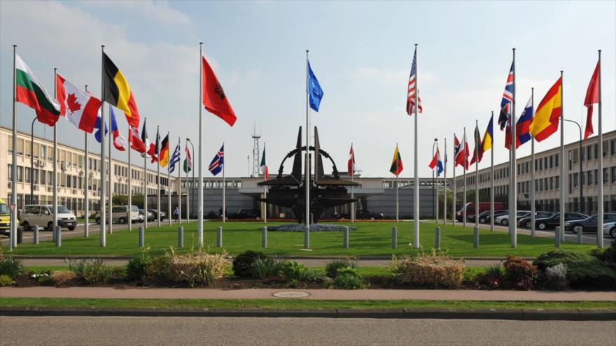 Sede de la Organización del Tratado del Atlántico Norte (OTAN) en Bruselas.