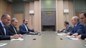 'Líder iraní y Putin ven estratégicos nexos de Irán y Rusia'
