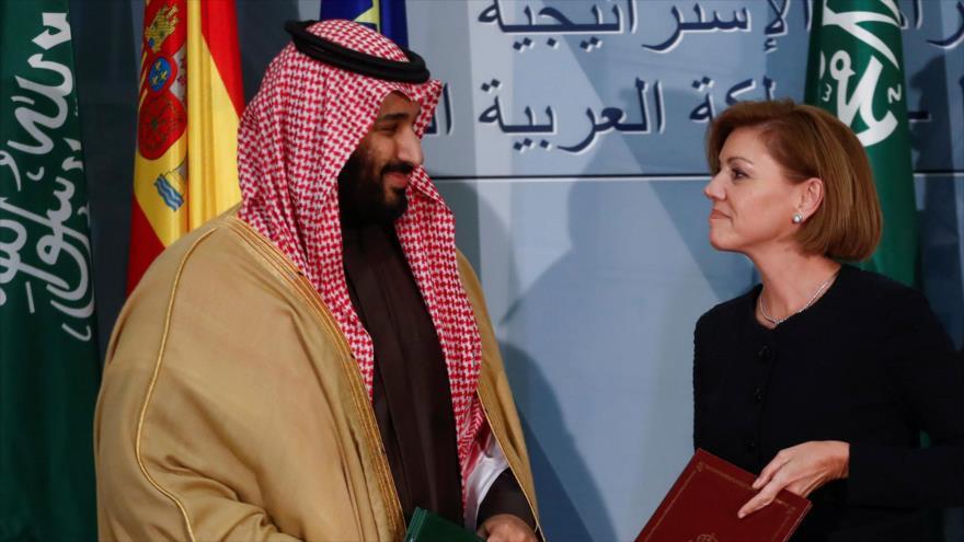 Riad firma compra de cinco corbetas a España por € 2 mil millones