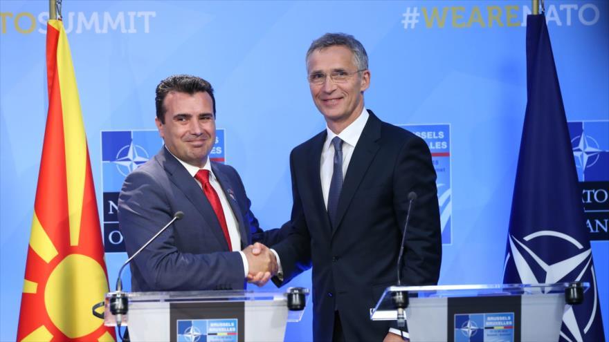 Concluye la cumbre de OTAN en Bruselas