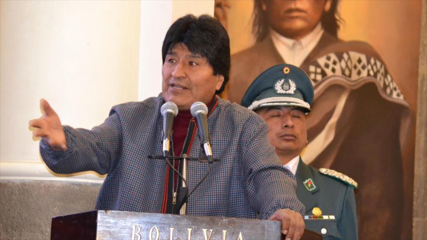 Morales acusa a Trump de extorsionar a OTAN al elevar su gasto militar