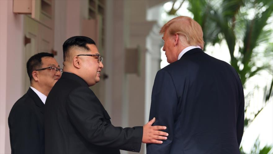 Kim reclama 'acciones prácticas' de Trump para lograr confianza