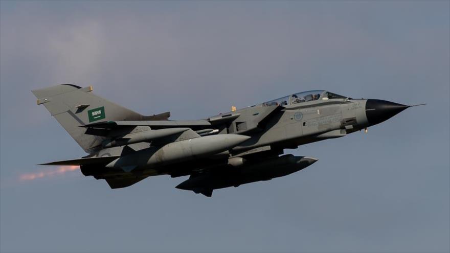 Un caza bombardero saudí Tornado.