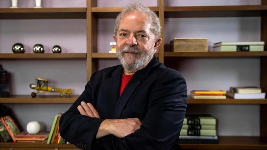 El expresidente brasileño Luiz Inácio Lula da Silva durante una entrevista en Sao Paulo, Brasil, 1 de marzo de 2018.