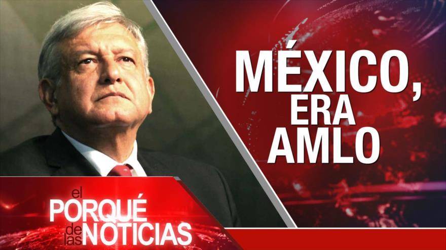 El Porqué de las Noticias: Avanza el Ejército sirio. Rusia rechaza expansión de OTAN. Oposición mexicana reagrupada ante López Obrador