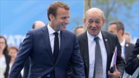 Canciller francés: No dejaremos que Trump desestabilice a Europa