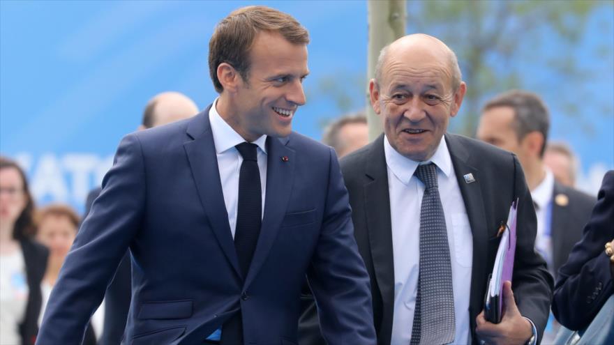 Canciller francés: No permitiremos que Trump desestabilice a Europa