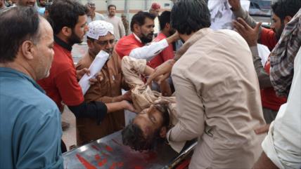 Dos atentados terroristas dejan 132 muertos en Paquistán