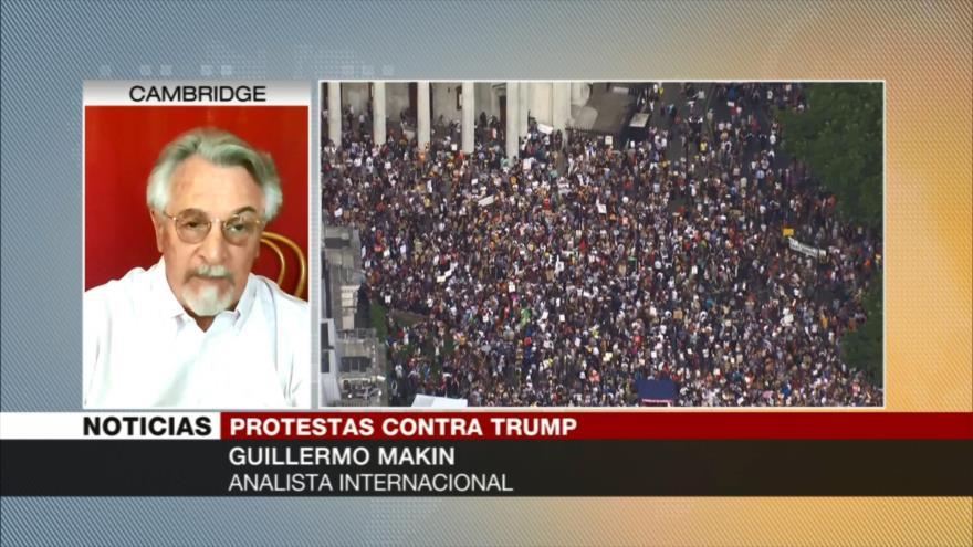 A.Makin: Donald Trump está muy desprestigiado en el Reino Unido