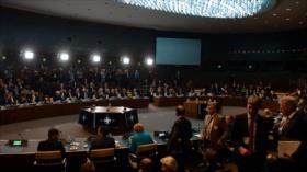 Cumbre de líderes de OTAN, dominada por discrepancias y protestas