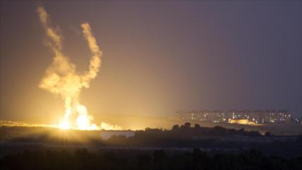 Fuerzas palestinas responden con misiles un ataque israelí a Gaza