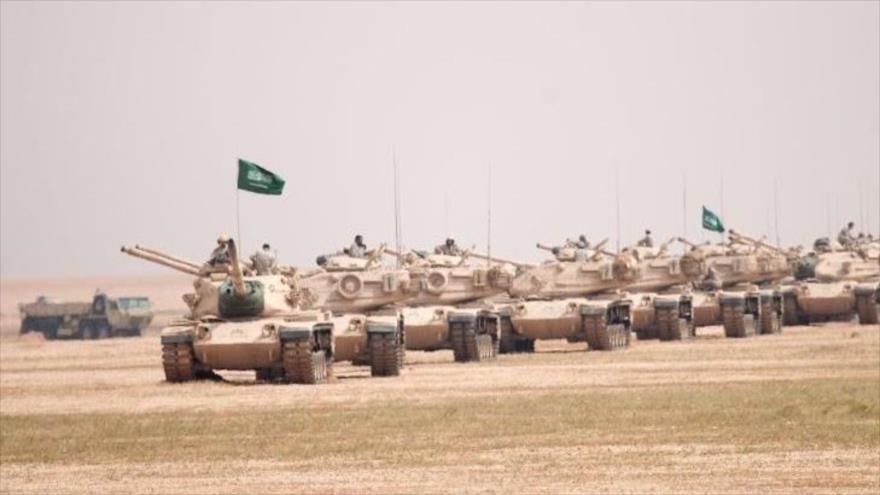 Ejército yemení destruye un convoy de tanques saudí en Najran
